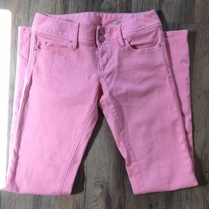 Lilly Pulitzer Pink Worth Straight Jean, Size 2